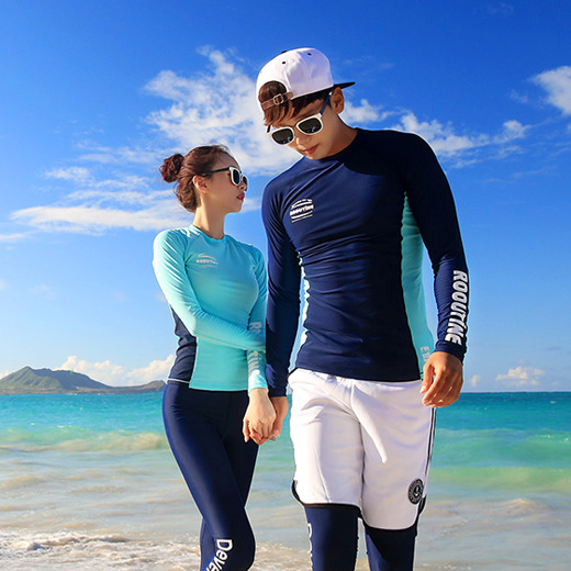 AWESOME MINT COUPLE RASHGUARD (RT0040)[커플가격]