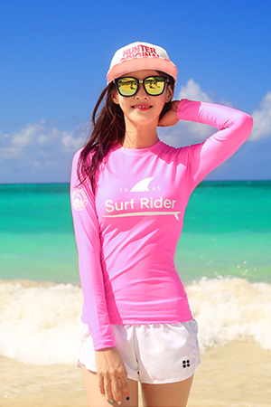 SURF RIDER WOMAN RASHGUARD (RT0022)