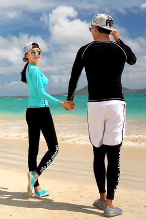 DEVELOP COUPLE LONG WATER LEGGINGS [커플가격]